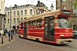 Tram, Den Haag (la Haye), Hollande (Pays-Bas), Europe