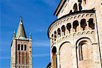 Extérieur de la Duomo, Parma, Emilia Romagna, Italie, Europe