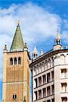 Le Duomo et le baptistère, Parma, Emilia Romagna, Italie, Europe
