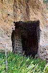 Colombario tombe, la nécropole étrusque de Le Scalette, Tuscania, Viterbo, Latium, Latium, Italie, Europe