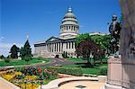 État de l'Utah Capitol, Salt Lake City, Utah, États-Unis d'Amérique, l'Amérique du Nord