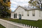 Underground Railway House, Schoolcraft, Michigan, United States of America, North America