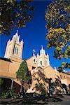 San Filipe de Neri Church, Old Town Plaza, Albuquerque, New Mexico, United States of America, North America