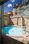 Cross Bath, Thermae Bath Spa, Bath, Avon, England, United Kingdom, Europe