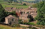 Thwaite, près de Muker, Swaledale, Parc National de Yorkshire Dales, Yorkshire, Angleterre, Royaume-Uni, Europe