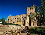 Abbaye de Jedburgh, bordures, Ecosse, Royaume-Uni, Europe