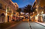 Espanola Way, Miami Beach, Floride, États-Unis d'Amérique, l'Amérique du Nord