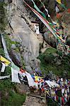 Taktshang Goemba (nid du tigre) monastère, Paro, Bhoutan, Asie