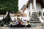 Foot Massage, Wat Po, Bangkok, Thailand, Southeast Asia, Asia