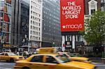 L'Amérique du Nord de Macy magasin, Herald Square, Manhattan Midtown, New York City, New York, États-Unis d'Amérique,