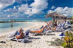 Beach on Princess Cays, Eleuthera Island, Bahamas, West Indies, Central America
