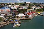 St. Johns waterfront, Antigua Island, Antigua and Barbuda, Leeward Islands, Lesser Antilles, West Indies, Caribbean, Central America