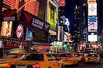 Times Square, Manhattan Midtown, New York City, New York, États-Unis d'Amérique, l'Amérique du Nord