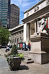 New York Public Library, Manhattan Midtown, New York City, New York, États-Unis d'Amérique, Amérique du Nord