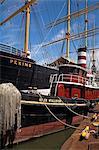 Sail Ship, South Street Seaport Museum, Lower Manhattan, New York City, New York, United States of America, North America