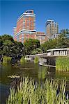 Governor Nelson A. Rockefeller Park, Battery City, Lower Manhattan, New York City, New York, United States of America, North America