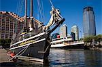 Liberty Park Marina, Jersey City, New Jersey, United States of America, North America