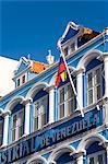Banco Industrial de Venezuela sur Handelskade, District de Punda, Willemstad, Curaçao, Antilles néerlandaises, Antilles, Caraïbes, Amérique centrale