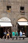 Par l'intermédiaire de Guicciardini, Florence, Toscane, Italie, Europe