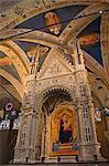 Altar, Orsanmichele Church, Florence, Tuscany, Italy, Europe