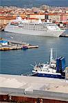 Port de Livourne, Toscane, Italie, Europe