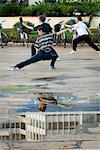 Morning Tai Chi, Government Square, Kunming, Yunnan, China, Asia
