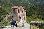 Church of St. Mary of Petrich, Assen fortress, Asenovgrad, Bulgaria, Europe