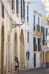 Vieille ville, Gallipoli, Lecce province, Pouilles, Italie, Europe