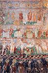 Fresques de rupestres byzantines Tokali Kilise de Goreme Musée en plein Air (église de la boucle), patrimoine mondial de l'UNESCO, Göreme, Cappadoce, Anatolie, Turquie, Asie mineure, Eurasie