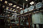 Processing equipment, Portvale Sugar Factory, St. James Parish, Barbados, West Indies, Caribbean, Central America