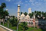 The Masjid Jamek (Friday Mosque), built in 1907, Kuala Lumpur, Malaysia, Southeast Asia, Asia