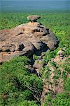 Part of Nourlangie Rock, sacred Aboriginal shelter and rock art site, Kakadu National Park, UNESCO World Heritage Site, Northern Territory, Australia, Pacific