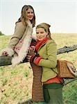 Mère et fille de clôture
