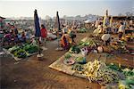 Morning market, Vientiane, Laos