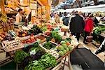 Les Halles marché, Quimper, Finistère, Bretagne, France