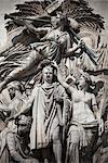 The Triumph of 1810 at Arc de Triomphe, Paris, France