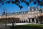 Place des Vosges, Le Marais, Paris, France