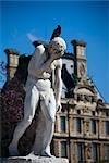 Statue in the Jardin des Tuileries, Paris, France