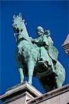 Statue in Montmartre, Paris, France