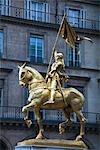 Statue of Joan of Arc, Paris, France