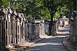 Friedhof Pere Lachaise, Paris, Frankreich