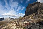 Tombstone Range, Ogilvie Mountains, Tombstone Territorial Park, Yukon, Kanada