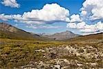 Mount Chester Henderson, Prospector Range, Ogilvie Mountains, Tombstone Territorial Park, Yukon, Kanada