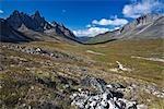 Tombstone Mountain, Tombstone Range, Ogilvie Mountains, Tombstone Territorial Park, Yukon, Canada