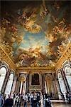 Hercules Drawing Room, château de Versailles, Ile de France, France