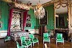 Chambre à coucher, château de Versailles, Ile de France, France