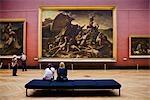 Raft of the Medusa, The Louvre, Paris, Ile de France, France