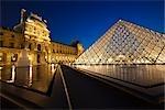 The Louvre, Paris, Ile de France, France