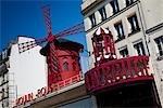 Moulin Rouge, Montmartre, Paris, Ile de France, France