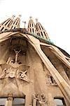 La Sagrada Familia, Barcelone, Catalogne, Espagne
